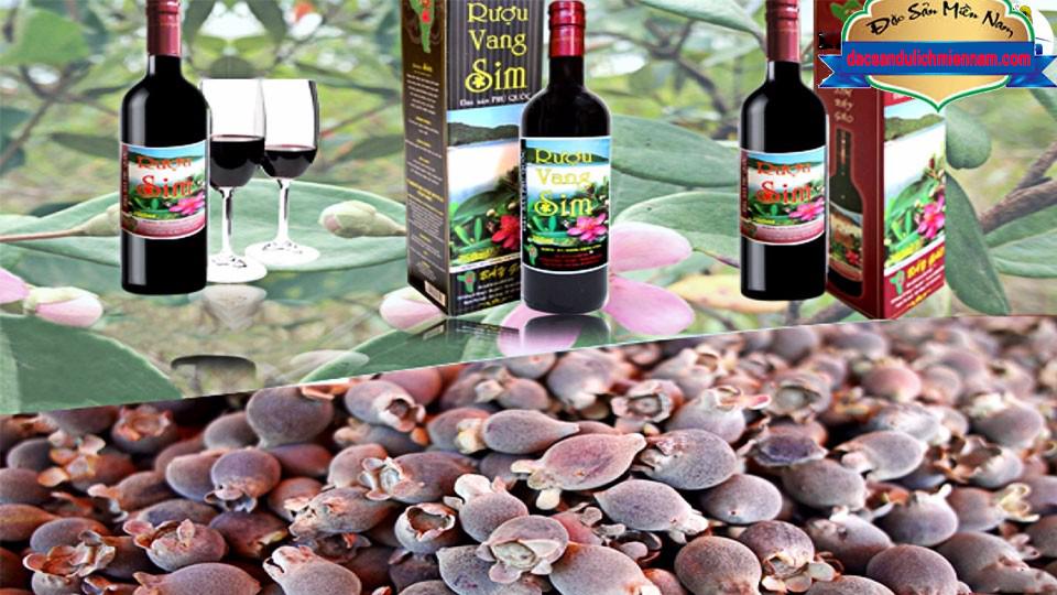 Rượu Sim Phú Quốc - Rượu Sim Bảy Gáo